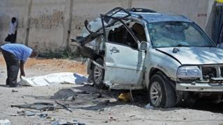 Le poste de police visé était celui de Waberi, situé dans la rue Maka Al-Mukarama, l'artère la plus fréquentée de la capitale somalienne.