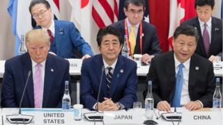 """大阪二十國集團(G20)峰會上的""""習特會""""全球矚目"""