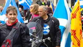 Rally at George Square