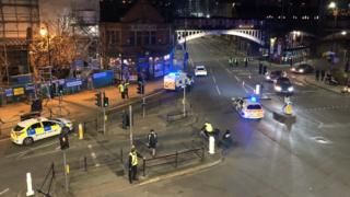 Deansgate terror arrests