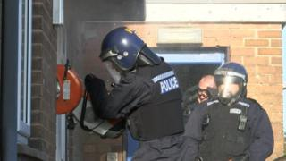 Drugs raid in Balderton near Newark