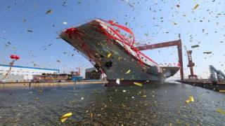 中國第二艘航母下水