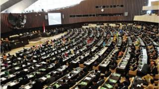 Pemilihan umum anggota legislatif 2019 akan digelar bersamaan dengan pemilihan presiden sesuai tertuang dalam Undang-undang nomor 7 tahun 2017 tentang Pemilu.