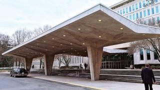 Штаб-квартира ЦРУ в Лэнгли