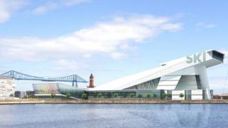 Proposed Middlesbrough snow centre