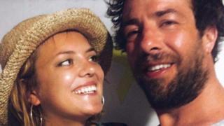 Jon Lewin and his girlfriend