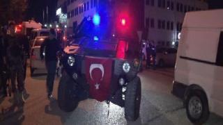 Ankara Eryaman'da operasyon düzenleyen güvenlik güçleri
