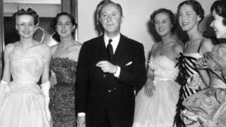 Christian Dior with six models