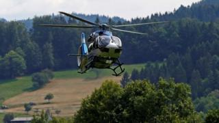 Police helicopter in Black Forest search, 14 Jul 20