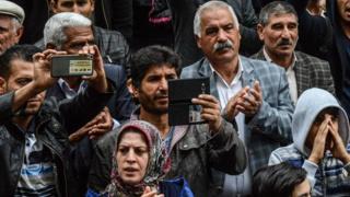 Diyarbakır'da protestolar