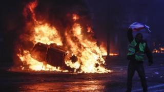 ناآرامی های اول دسامبر در پاریس