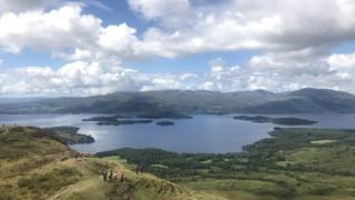 Conic Hill in Balmaha