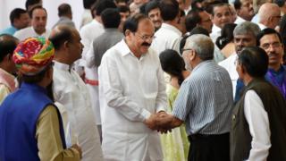 இந்தியாவின் 15-வது குடியரசு துணைத் தலைவராகிறார் வெங்கையா நாயுடு