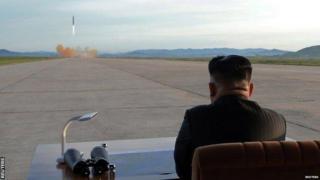 उत्तर कोरिया, अमेरिका, क्षेपणास्त्र