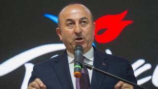Dışişleri Bakanı Mevlüt Çavuşoğlu, Berlin'de düzenlenen turizm fuarını ziyaret etti.