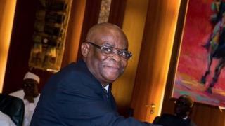 Mukaddashin mai shari'a na Nigeria Walter Onnoghen