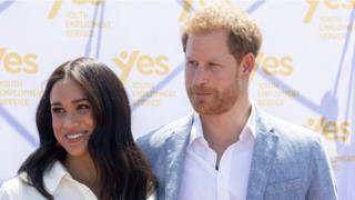 Duke and Duchess of Sussex visit the Tembisa township during Royal tour of South Africa, October 2nd 2019