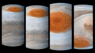 Júpiter. Foto: NASA.