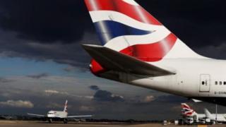 British Airways aircraft