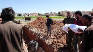 Жертв атаки у провінції Ідліб ховали у середу
