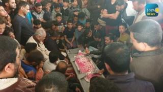 جنازة الطفل محمود شفقة