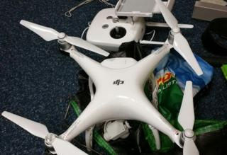 Drone seized by police