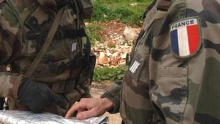 French soldiers, file pic