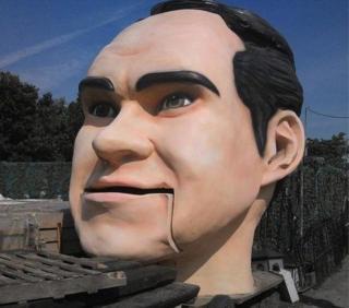 Jimmy Carr head model