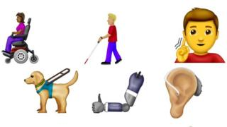 Disability-themed emojis