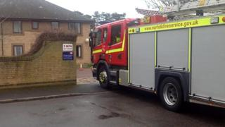 Fire at Hethersett