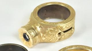 шпионское кольцо-камера