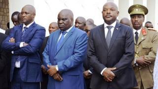 Le premier vice président burundais, Gaston Sindimwo présent sur cette photo a indiqué que le staff des Nations Unies est manipulé par des hommes politiques et donne des rapports baisés