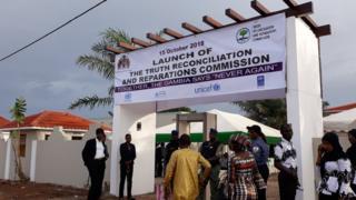 Les témoignages ont eu lieu devant la Commission vérité et réconciliation de Gambie