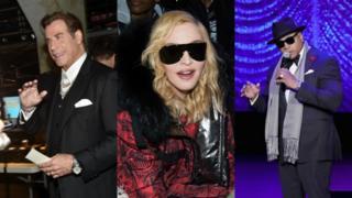 John Travolta, Madonna and LL Cool J