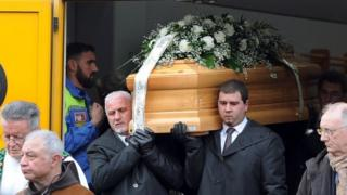 Giulio Regeni's funeral