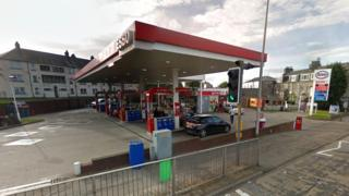 Esso in North Anderson Drive