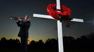 Australia and New Zealand mark Anzac Day at home