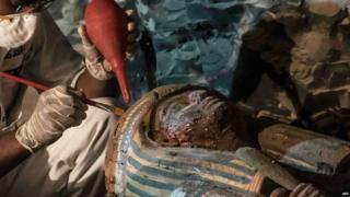 Excavación en Egipto