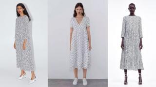 Zarine bele haljine na crne tufne postale su viralne na Instagramu