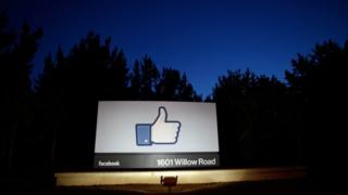 Facebook like sign