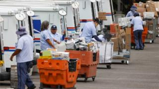 California post office workers