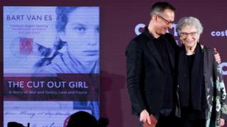 Bart van Es and Lien de Jong at the Costa Prize ceremony