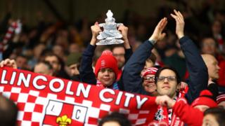 Lincoln City fans