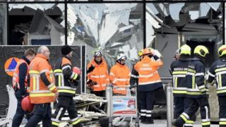 Aftermath of terror attacks in Belgium