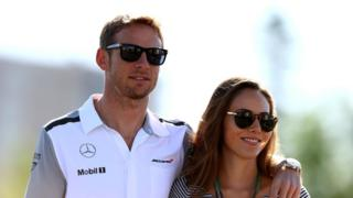 1 driver Jenson Button and his wife have been burgled while asleep in their house in St. Tropez. MONTREAL, QC - JUNE 07: