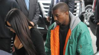 Kim Kardashian West flew home to be with her husband Kanye West immediately after the robbery (3 Oct 2016)
