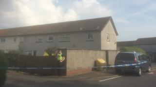 Police at house in Crusader Crescent