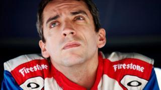 Indycar driver Justin Wilson