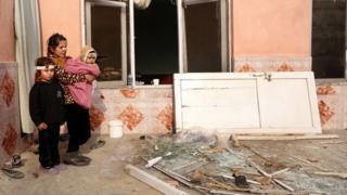التدمير أصاب منازل مجاورة