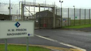 Maghaberry Prison, generic shot of front security gates